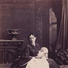 Mrs Wilbraham Lennox and child